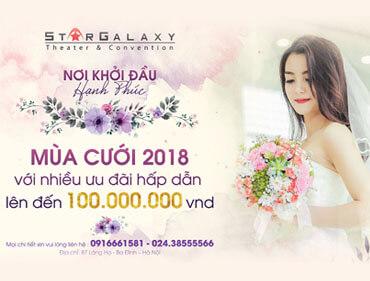 Chương trình ưu đãi mùa cưới 2018 lên tới 100 triệu đồng