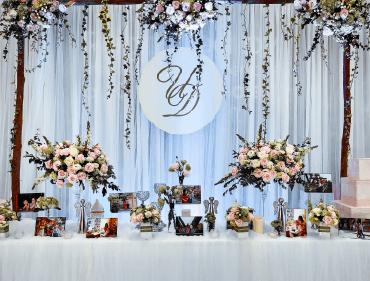 3 Xu hướng trang trí tiệc cưới năm 2018