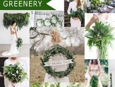 """Xu hướng trang trí tiệc cưới 2018: """"Bữa tiệc Greenery, Rustic màu xanh lá"""""""