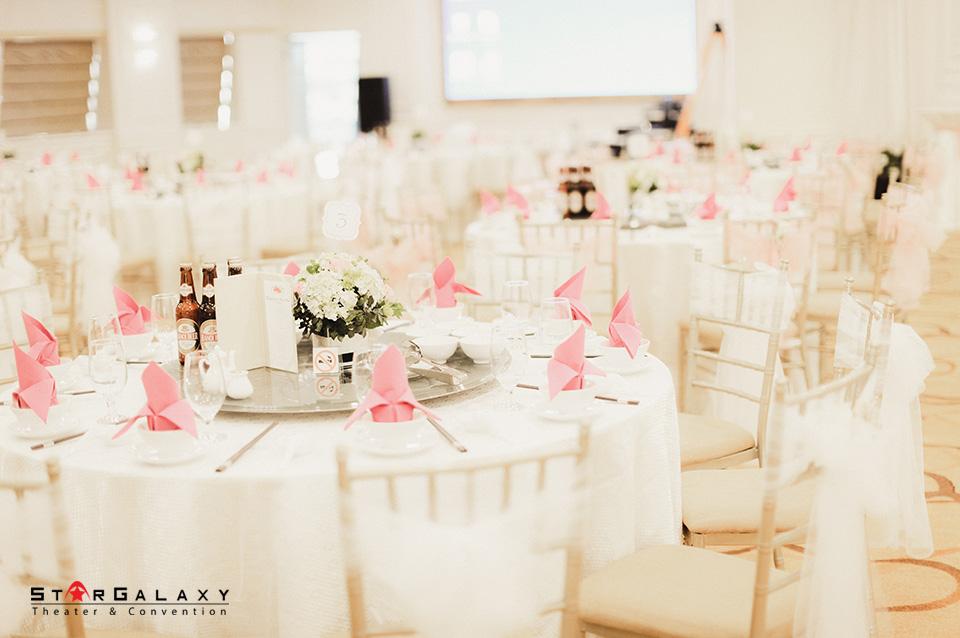 Trung tâm tổ chức Tiệc cưới tại Hà Nội